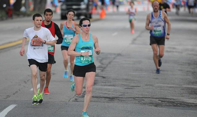 deep breathing when running