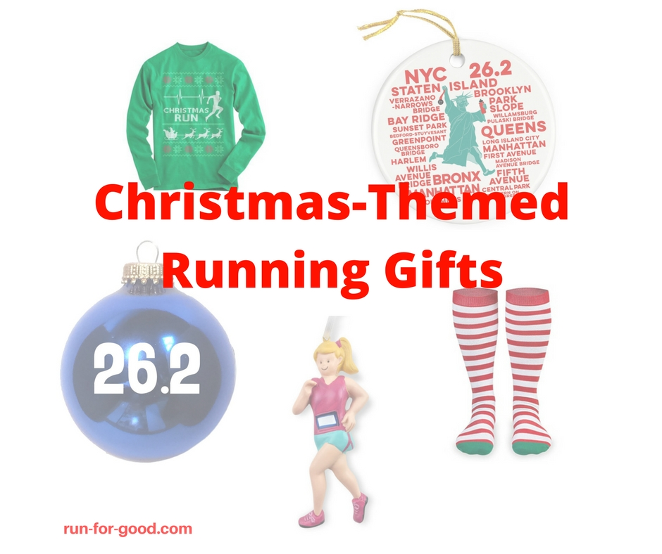 Christmas Gifts For Runners: Christmas-Themed Running Gifts
