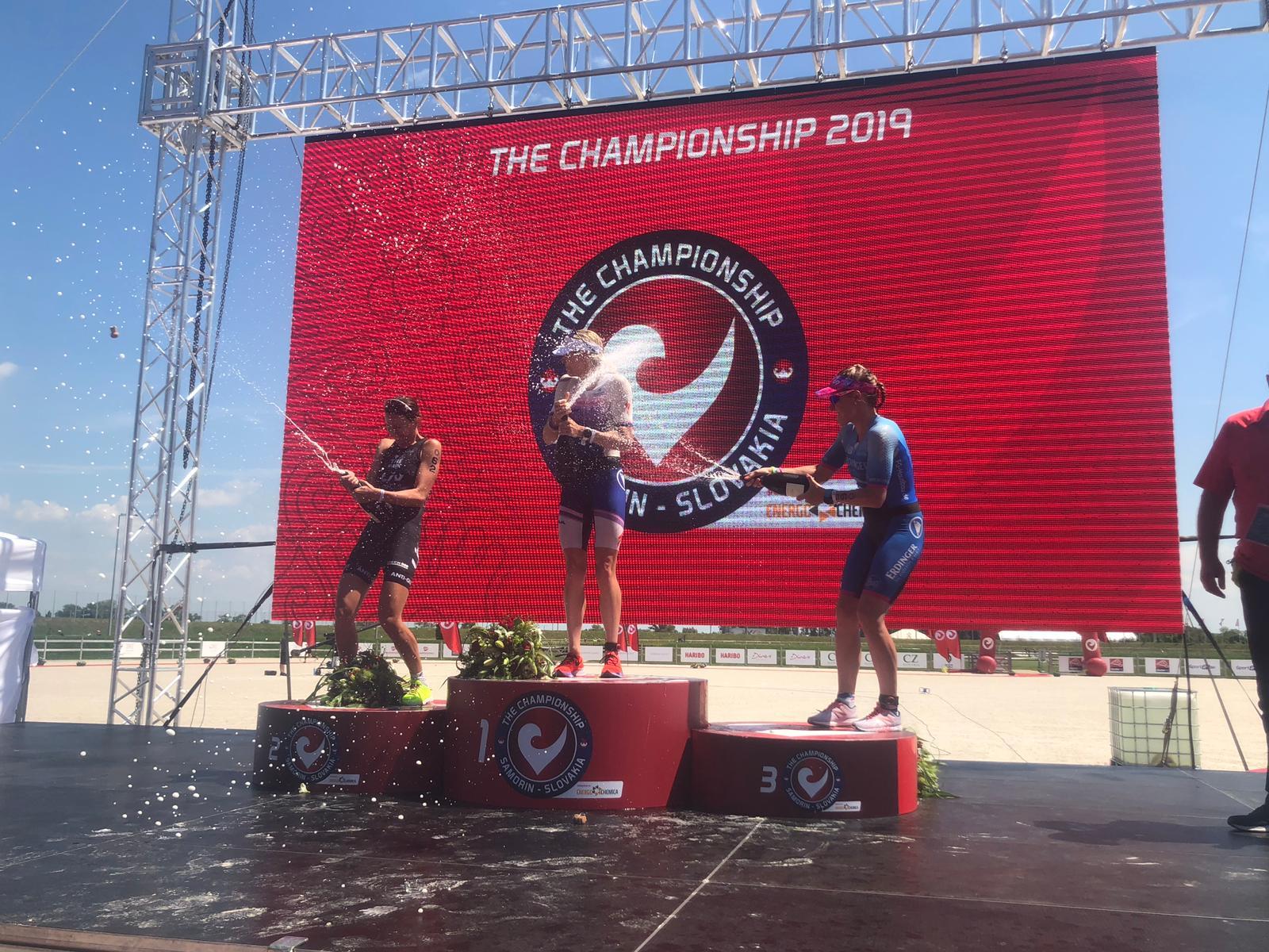 Radka Kahlefeldt-Vodičková bere druhé místo ze světového šampionátu Challenge Family