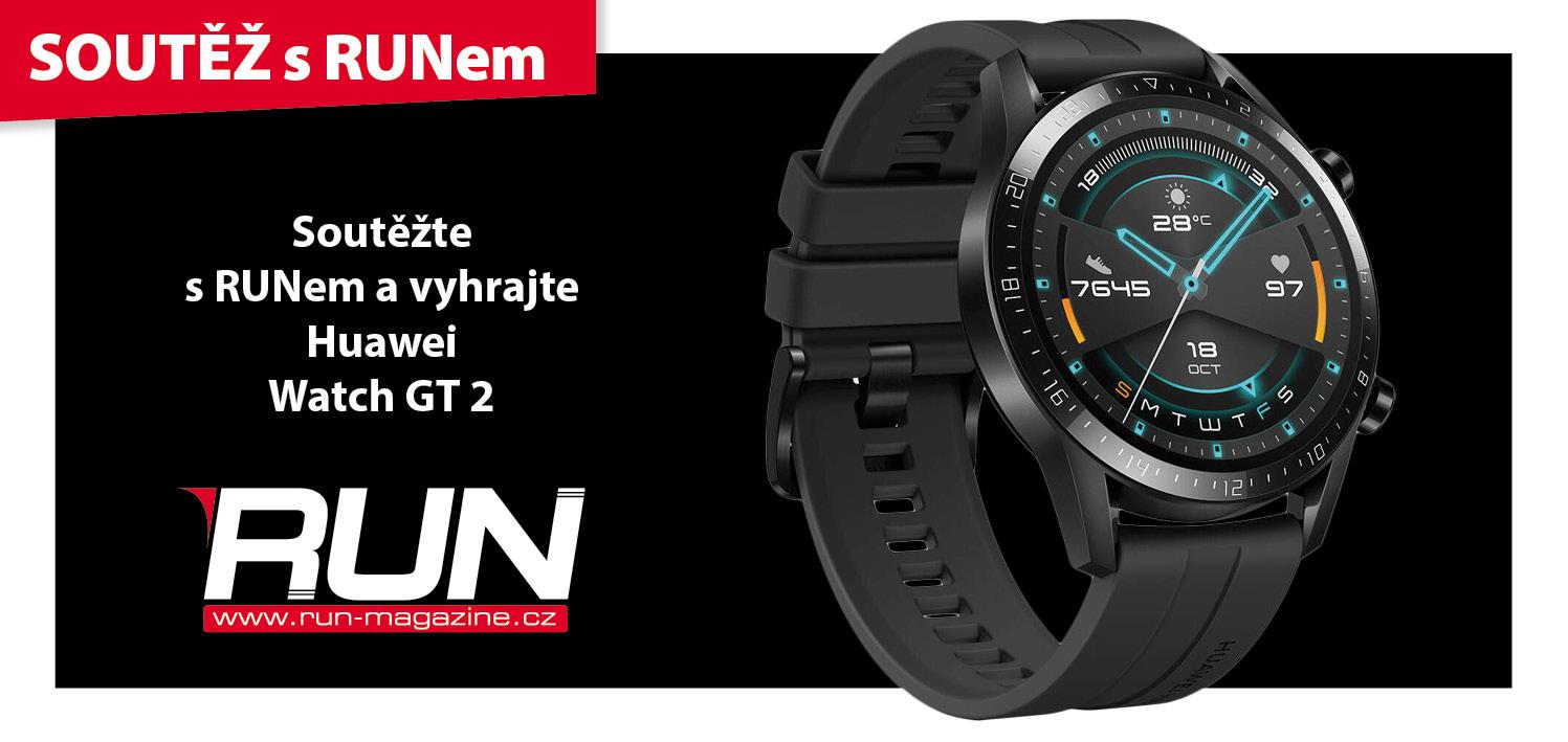 SOUTĚŽ o Huawei Watch GT 2