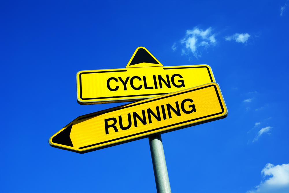 Tucet důvodů, proč je běh lepší než cyklistika
