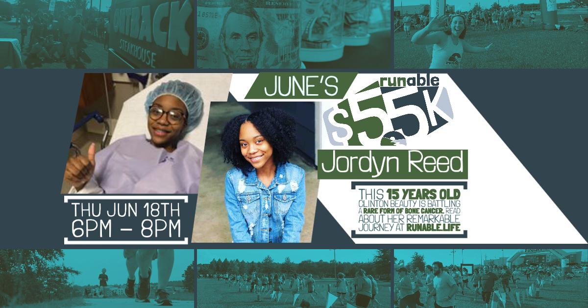 RUNable $5 5k for Jordyn Reed