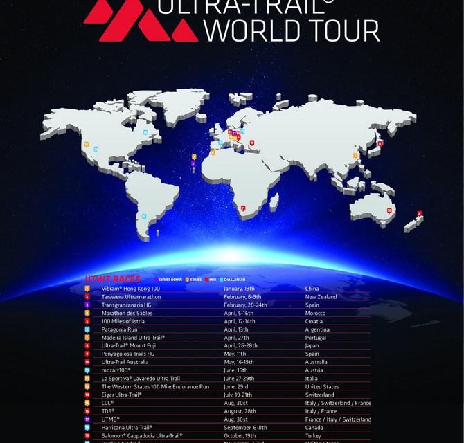 Ultra Trail World Tour 2019; les courses du calendrier
