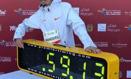 Semi-marathon de Ras Al Khaimah: record d'Europe pour Julien Wanders