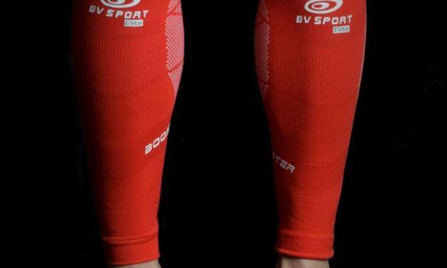 Test Booster Elite Evo2, les manchons de compression de chez BV Sport.