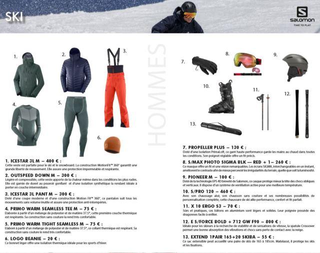 nouveautés salomon ski