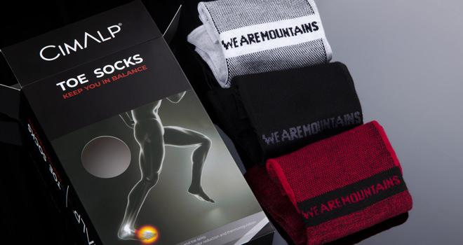 Test chaussettes 5 doigts de chez Cimalp, un confort particulier et agréable