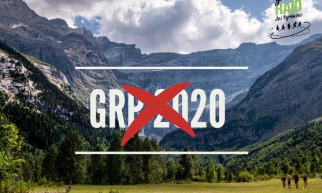 Annulation GRP: le Grand Raid des Pyrénées vous donne rendez-vous en 2021.