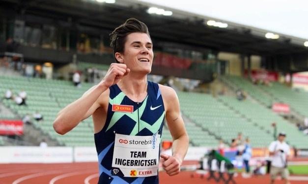 Record d'Europe 2000m pour Jakob Ingebrigtsen durant les Impossible Games D'Oslo.