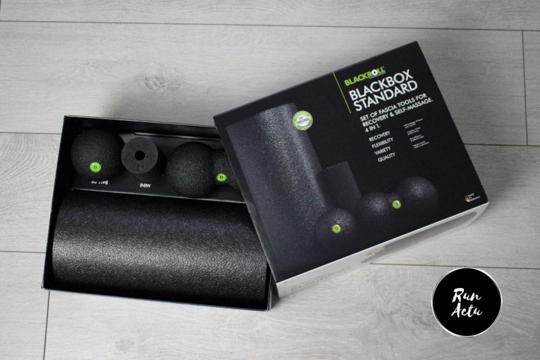 kit auto massage blackroll Récupération en course à pied