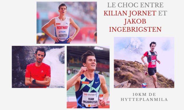 Kilian Jornet et Jakob Ingebrigsten, le duel sur un 10km en Norvège.