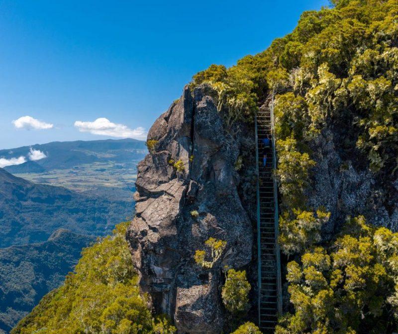 Piton des Neiges La Réunion David Hauss record ascension