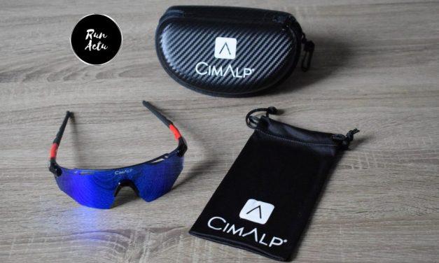 Lunettes Cimalp, les «Vision One» personnalisables à souhait et légères pour vos sorties trail et vélo