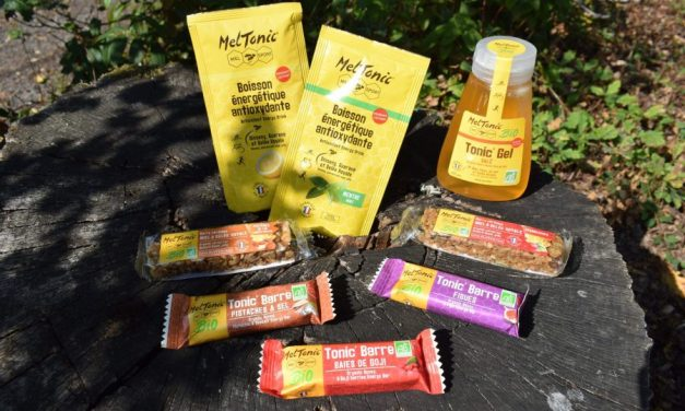 Test Meltonic, une large gamme de produits énergétiques au miel pour les sportifs.