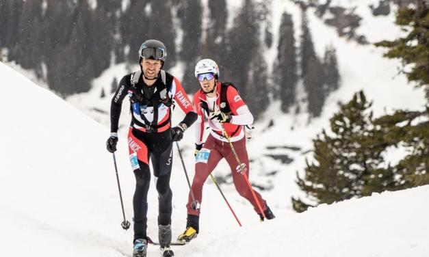 François D'haene remporte deux manches du championnat du monde de ski-alpinisme.