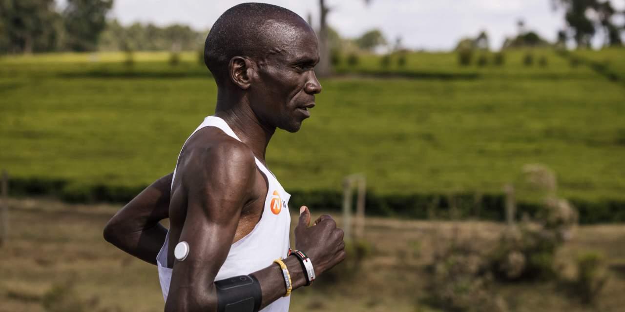 Marathon JO Paris 2024, mesurez vous au champion Eliud Kipchoge lors d'un 5km de folie.