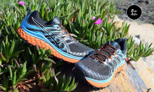 Test Asics Trabuco Max, une paire destinée à l'ultra-trail dotée d'un confort maximum.