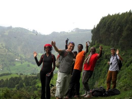 Run Africa Ethiopia hiking
