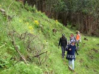 Run Africa Ethiopia hiking Diageo Entoto team building