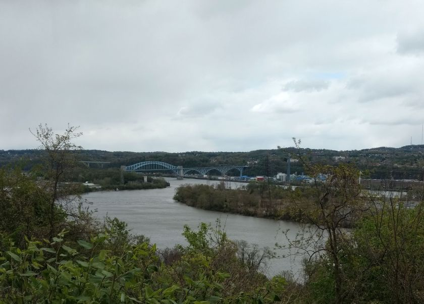 McKees Rocks Bridge from Brunot Ave