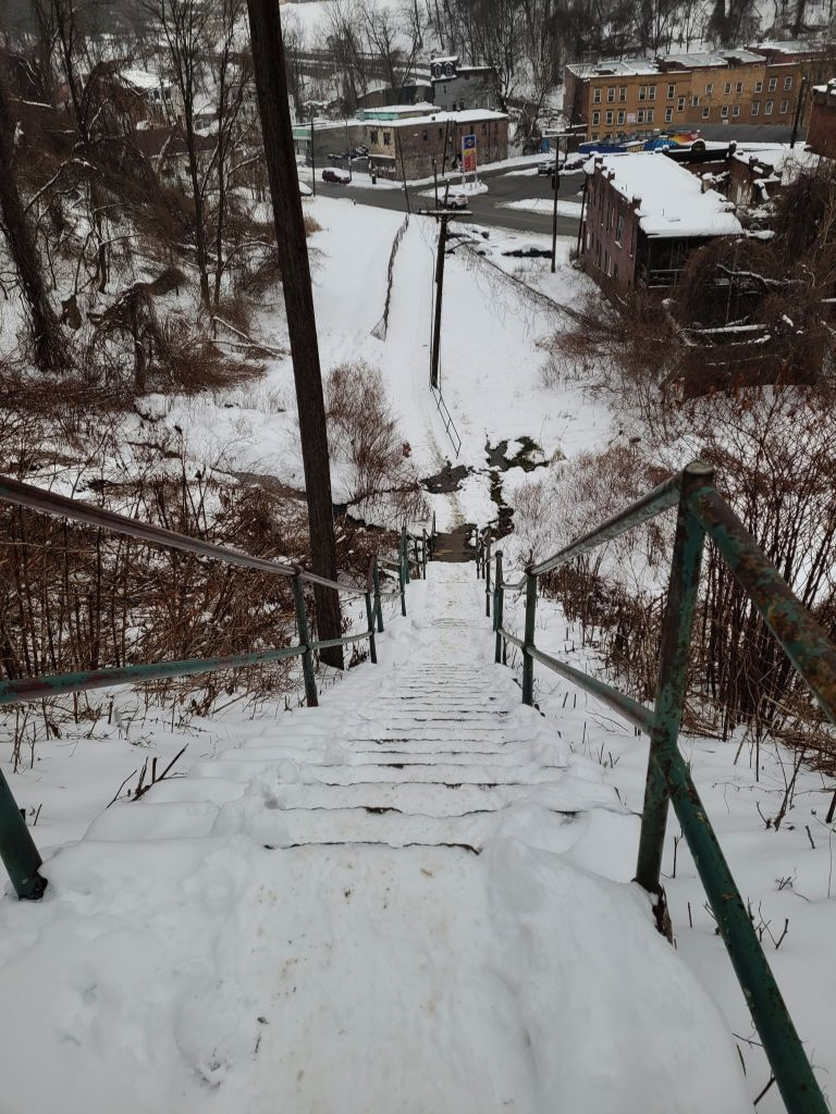 Chauncy Street Steps