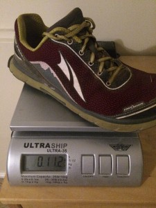 Altra Lone Peak 2.5 Weight