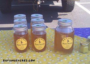 honey at market