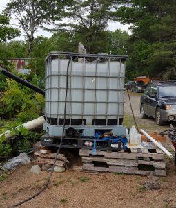 stock tank irrigation