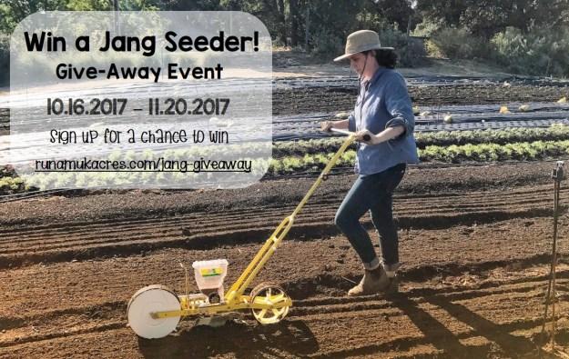 jang seeder giveaway