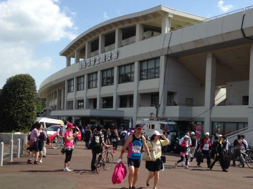 仙台市陸上競技場です