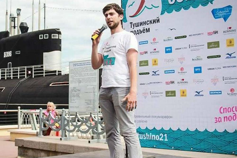 Михаил Нагорный, директор полумарафона