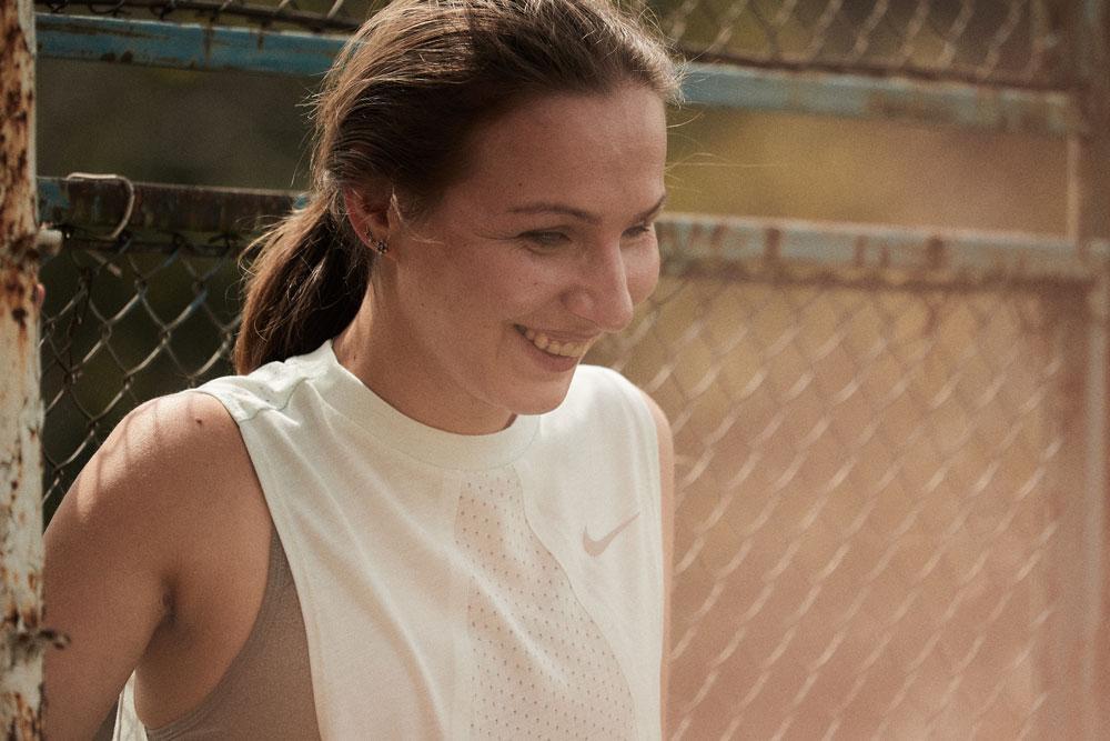 Незрячая бегунья Елена Федосеева стала лицом рекламы Nike
