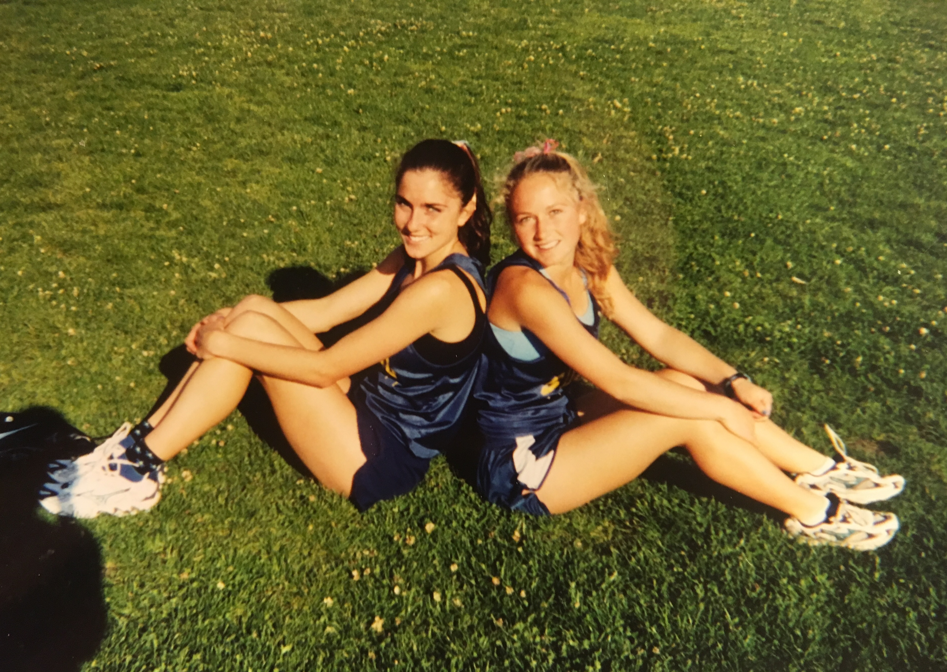 2001 - High school track: where the friendship and dreaming started
