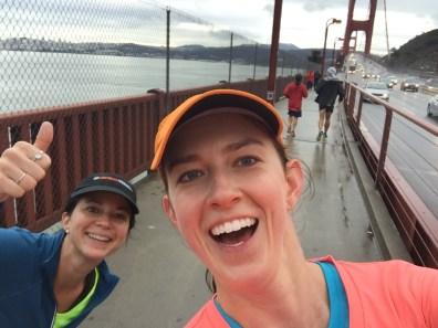 Bay Area joy runnnimg.