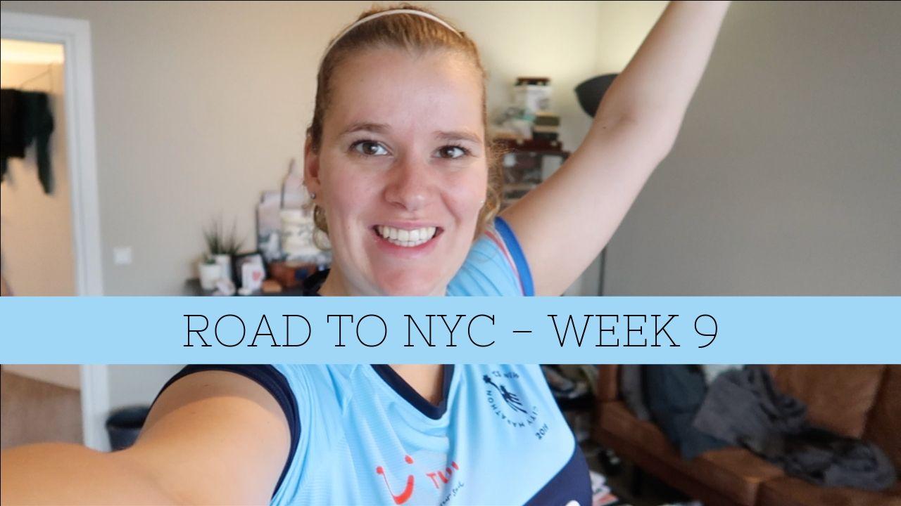 27 km in mijn uppie – Road to NYC week 9