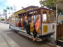 Tram in San Fransisco