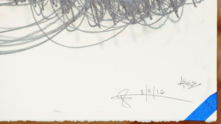 Spring Break No.2, signatures, Alexis Capt & Glenn Zucman