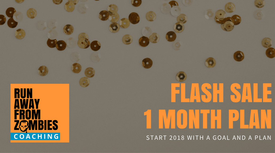 Flash Sale: 1 Month Custom Running Plan