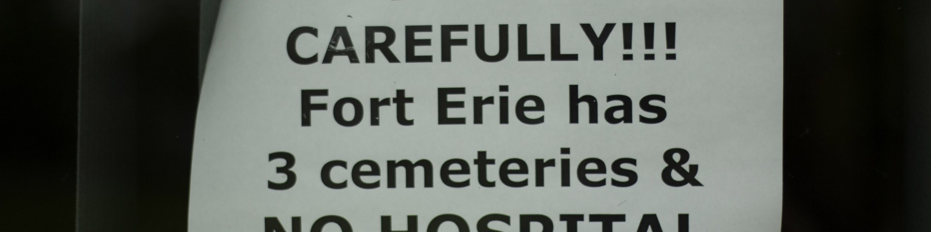 VanLife - Fort Erie Explored - Poster