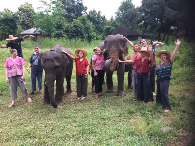Chiangmai Elephant Rescue Center