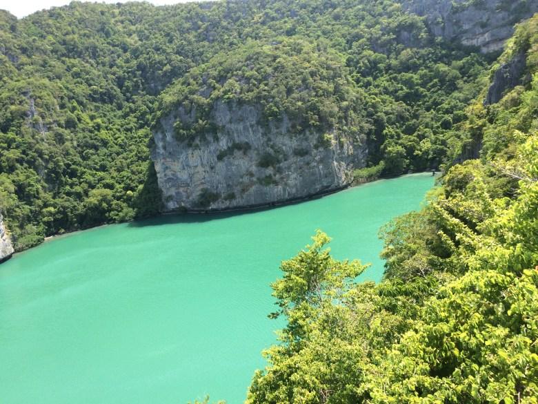Green lagoon Ang Thong National Park