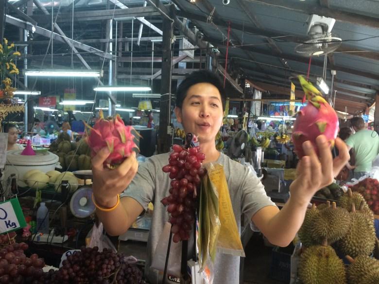 Chiang mai market shopping for cooking class