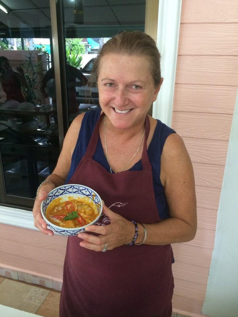 Runaway widow Chiang mai cooking class