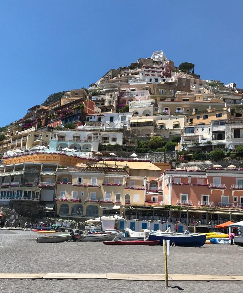 DAY TRIP TO POSITANO ITALY