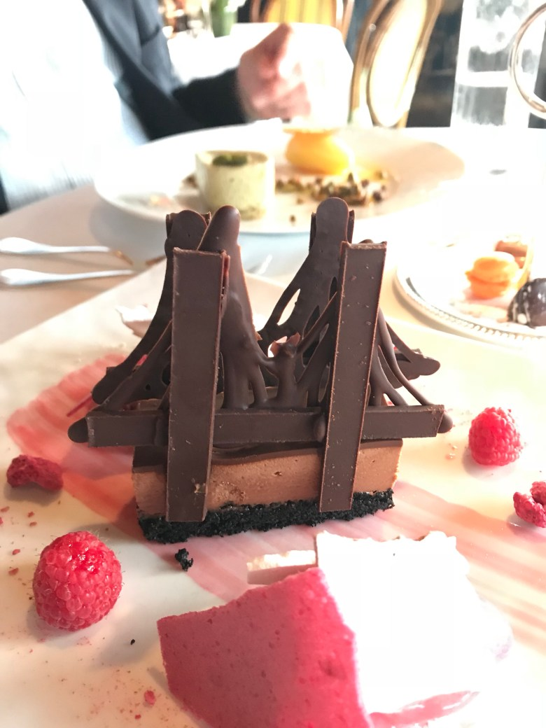 River Cafe Brooklyn Bridge dessert