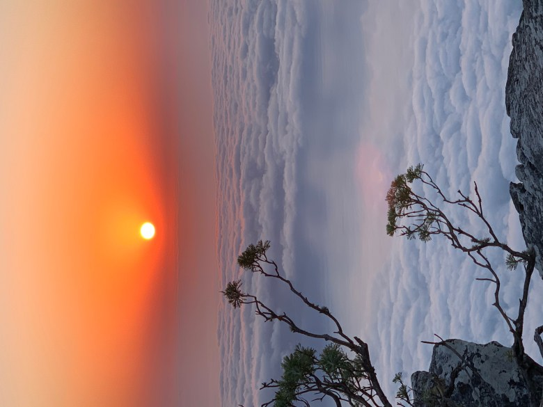 AFRICA SUNSET TABLE MOUNTAIN CAPETOWN
