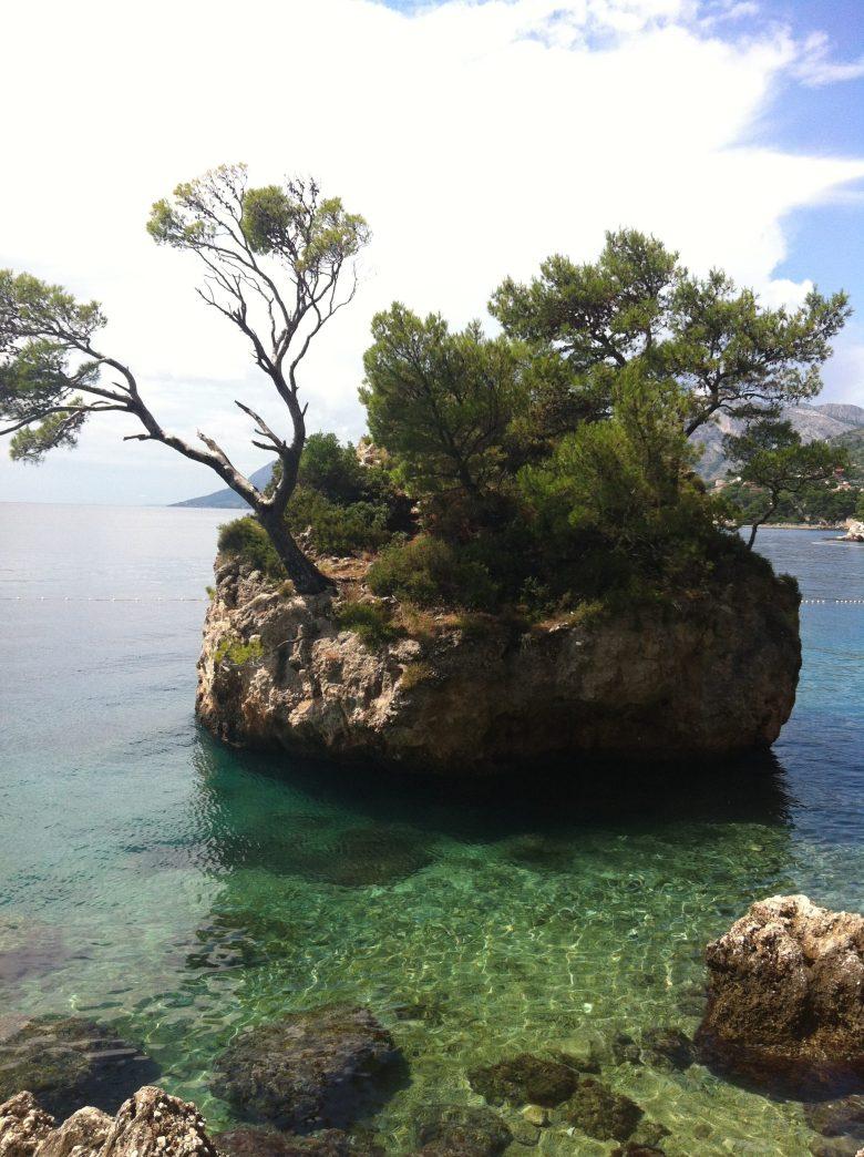 Brela, Croatia seaside village