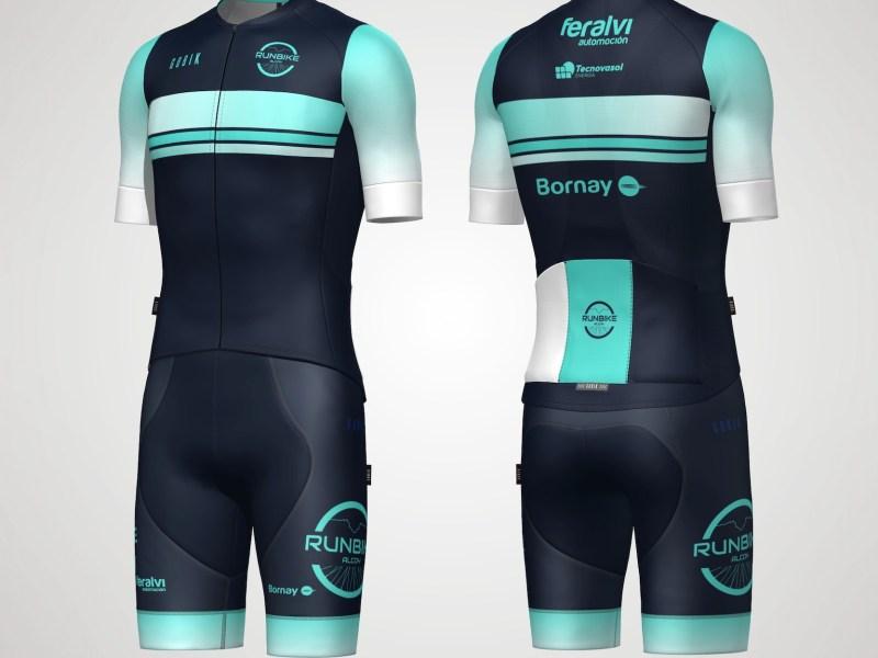 Equipación ciclismo Runbike Alcoy 2021