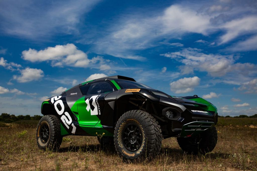 Extreme E SUV eléctrico off-road