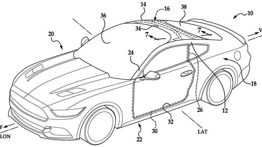 Ford Mustang podría conseguir un gran parabrisas espectacular